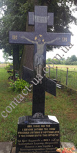 Крест из лабрадорита №137