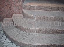 Образец гранитных ступеней №15