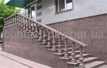 Гранитная лестница образец №27