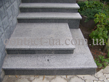 Образец гранитных ступеней №2