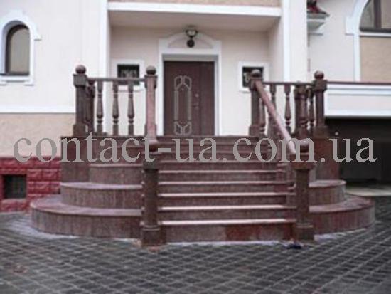 Гранитная лестница образец №30