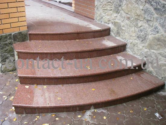 Гранитные ступени образец №31