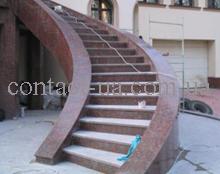 Гранитная лестница образец №35