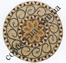 Мраморная мозаика №1