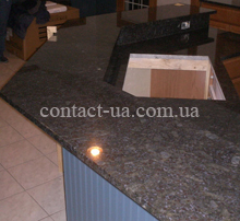 Двухъярусная столешница для кухни №41
