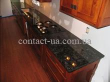 Столешница кухонная из лабрадорита Blue Volga №60