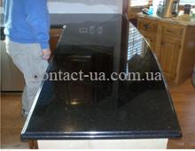 Стол для кухни из чёрного габбро №65